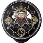 リズム時計 【キャラクター時計】 スターウォーズ 4MN547MC02 【電波からくり時計】[4MN547MC02]【ラッピング不可】【送料無料】【メール便不可】