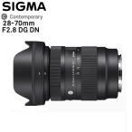 (レンズ)シグマ SIGMA 28-70mm F2.8 DG DN Contemporary ソニーEマウント用 標準ズームレンズ ミラーレス フルサイズ