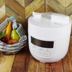 ショッピング圧力鍋 (レシピ付)シロカ 電気圧力鍋 ホワイト SP-D131W siroca (調理容量 1.3L)(メール便不可)