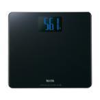 (体重計・体脂肪計)TANITA(タニタ) デジタルヘルスメーター ブラック(乗るだけで電源が入るステップオン式)HD-366-BK(メール便不可)