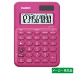 電卓 カシオ ピンクの画像