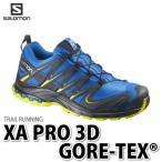 【訳あり品】SALOMON シューズ XA PRO 3D GORE-TEX (L38155400) 26.0cm 【カラー:BL/Slateblue/YE】【メンズ/男性用】【メール便不可】