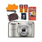 ショッピングデジタルカメラ (SD16GB&液晶保護フィルム等セット)ニコン デジタルカメラ COOLPIX A10 (カラー選択式)(メール便不可)