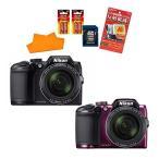 【★SD16GB&カメラバッグ等セット】ニコン(Nikon)  デジタルカメラ COOLPIX B500 [カラー選択式] 【メール便不可】