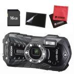 ショッピングデジタルカメラ (SDカードセット)リコー RICOH WG-50 ブラック 防水・防塵・耐衝撃・防寒 デジタルカメラ(メール便不可)