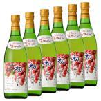 「6本セット」北海道ワイン 2019年 初しぼり デラウェア 720ml  白ワイン やや甘口(メール便不可)(ラッピング不可)