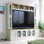 テレビ台 ハイタイプ カントリー 60インチ TV台 テレビラック ゲート型 ホワイト J-Supply Ltd.(ジェイサプライ) sav056