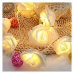 薔薇 バラ ローズ 花 LED イルミネーション 電飾 イルミネーション ガーデンライト 吊り下げる飾り 10灯 2m