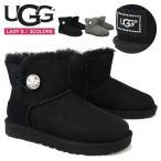 Boots - UGG アグ ブーツ レディース MINI BAILEY BUTTON BLING ミニ ベイリー ボタン ブリング スワロフスキー 正規品 P2倍