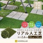 人工芝 ジョイント 10枚set 人工芝ベランダ 施工方法 簡単 庭がおしゃれに 価格施工費 も抑えられて diyにおすすめ 水はけが良い【takumu】