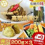 辛子高菜 お取り寄せ 久留米特産  高菜かぶ漬け200g×3袋セット 本場九州産 伝統の味わい 高菜の葉 漬け込みタイプ たっぷり600gでお届け