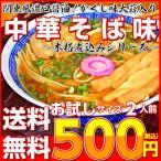 ポイント消化 500円 ラーメン 中華そば味 関東風濃口 醤油ラーメン 2人前 かくし味 大蒜風味 しょうゆ味 メール便商品 保存食お試しグルメ