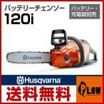 ハスクバーナ 充電式 バッテリー チェーンソー 120i テックライトバー3/8