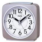 SEIKO セイコー クロック 目覚まし時計 アナログ PYXIS ピクシス 薄ピンク パール NR440P