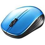 BUFFALO バッファロー 無線(2.4GHz)BlueLEDマウス3ボタン ブルー BSMBW105BL