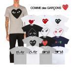 コムデギャルソン プレイ COMME des GARCONS PLAY メンズ トップス ハートプリント 半袖 Tシャツ HEART LOGO TSHIRT