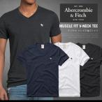 アバクロ Tシャツ Vネック 半袖 アバクロンビー&フィッチ Abercrombie&F