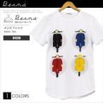 ベルーナ イタリア Berna ITALIA Tシャツ 半袖 64256 Vespa ベスパ バイク BN00011 メール便送料無料