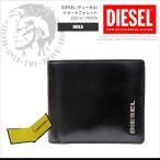 ディーゼル DIESEL 二つ折り財布 ショートウォレット メンズ X03141 PR378 NEELA XS ブラック DS2884