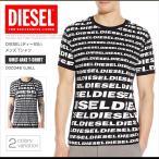 ショッピングプリント ディーゼル DIESEL Tシャツ メンズ 半袖 Tee UMLT-JAKE T-SHIRTロゴプリント DS41243SL メール便送料無料
