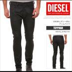 ディーゼル DIESEL ジーンズ デニム パンツ メンズ TEPPHAR 0663Q_STRETCH スリムキャロット ブラック DS7301