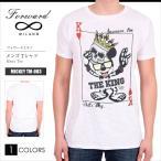 フォワードミラノ Forward Milano Tシャツ 半袖 イタリア MICKEY TM-003 トランプ ミッキー FM11011 メール便送料無料