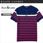 ポロラルフローレン Tシャツ 半袖 323649990002 ラルフ ボーイズサイズ ヘンリー ポニー ボーダー RL50002