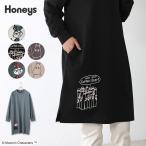 ワンピース Tシャツワンピ イラストプリント 綿 ゆったり おしゃれ レディース 秋 冬 Honeys ハニーズ ムーミンワンピース