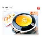 24cm ホーロー天ぷら鍋 (温度計付き)