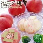 桃  福島のもも 特秀 4.5kg 15〜22玉 糖度12度以上 お中元 お盆 お供え 残暑見舞い 果物 フルーツギフト 御中元