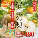 福島の 梨 特秀 2kg 送料無料 幸水梨 豊水梨 秋月梨 から選べる フルーツ 果物 ギフト