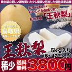 店長激オシ送料無料!! みずみずしいおいしさが詰まった秋の王様 王秋梨 5kg