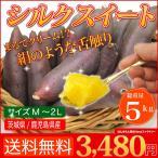 店長激オシ送料無料 絹のような舌触りと強い甘みが特徴のさつまいも シルクスイート 5kg