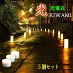 """""""光kiwami充電式""""5個セット"""