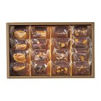 ホシフルーツ ナッツとドライフルーツの贅沢ブラウニー 16個 (HFZB-16)|代引不可|スイーツギフトコレクション