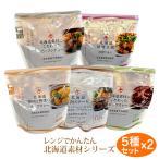 北海道 グルメ|レンジでかんたん 北海道素材シリーズ 10食セット(ビーフシチュー/ビーフカレー/スープカレー/ステーキ/マ麻婆豆腐 各2)|