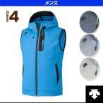 デサント オールスポーツウェア(メンズ/ユニ) TOUGH AIR フーデッドベスト/メンズ(DAT-2673V)