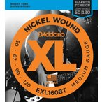 《期間限定!ポイントアップ!》D'Addario EXL160BT XL Balanced Tension (50-120)(ベース弦)(3セット)