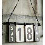 IRON CALENDAR アイアン カレンダー ダルトン S255-44 (S:0240)