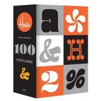 HOUSE INDUSTRIES 100 POSTCARDS (S:0010)