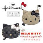 レディース ハローキティ コラボ ホールマーク マルチポーチ キティ フェイス型 日本限定デザイン