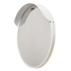 ショッピングミラー カーブミラー 丸型600φ アクリル製 道路反射鏡  日本製 ホワイト色 HPLA-丸600S白