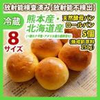 天然酵母パン ロールパン 5個(焼成前原料250g) 同梱サイズ8  放射能検査済み