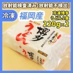 冷凍 冷凍博多うどん220g×2(440g) 放射能検査済み