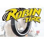セール特価 レビューで特典 FTR223 ROBIN TIRE(ロビンタイヤ) 4.50-18 450-18 ホワイトリボンタイヤ