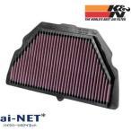 K N ケーアンドエヌ  リプレイスメントフィルター CBR600F4I 01-06  CBR600F 01-06  HA-6001
