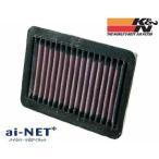 セール特価 K&N ケイアンドエヌ エアフィルター YA-1906 XV1900A(06-'11) リプレイスメントフィルター 純正交換タイプ