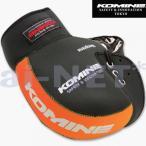 レビューで送料¥390 KOMINE コミネ バイクハンドルカバー防水防寒 ネオプレーンハンドルウォーマー ブラック/オレンジ