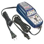 特価品 送料無料 tecMATE テックメート バッテリーチャージャー OPTIMATE4 オプティメイト4 Dual フルオートマチック 12V対応 3年保証