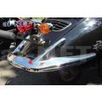 6ヶ月保証付 JOKER ジョーカー50/90 純正リペア用 メッキ リア バンパーキット 外装 aiNET製